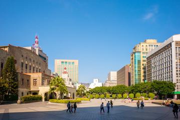 Zhongshan Hall in Taipei city
