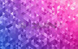 Shiny colorful geometric celebration background