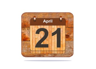 April 21.