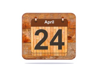 April 24.
