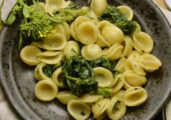 Orecchiette mit stängelkohl Italienische Küche
