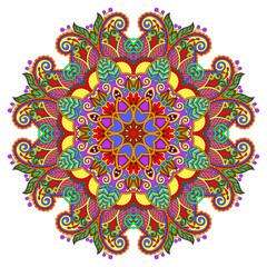 decorative spiritual indian symbol of lotus flower