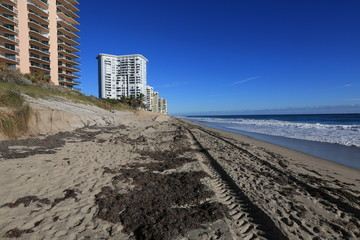 Beach erosion and restoration in Florida