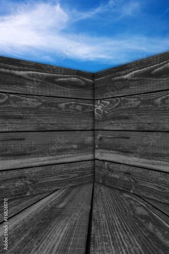 canvas print picture Hintergrund - Holz