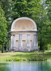 The Eagle pavilion. Russia. Saint-Petersburg. Gatchina.