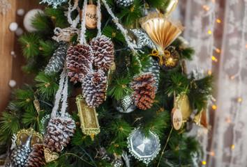 Beautiful  New Year tree