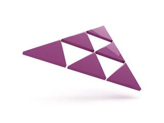 Logo triangoli - astratto