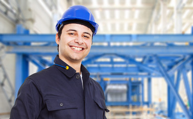 Engineer in a factory
