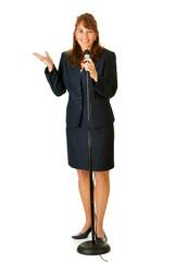 Politician: Giving a Speech