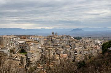 Caprarola ancient town in Italy