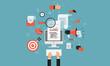 digital marketing business  online concept - 76829247