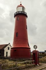 Lage vuurtoren van IJmuiden Lighthouse