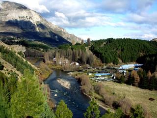 Paisaje en la Región de Aysén Chile