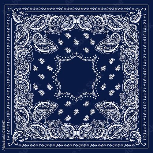 Blue Bandana - 76831037