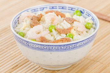 Special Fried Rice - Chinese rice with pork, prawns and egg