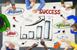 Brainstorming Success Strategy Analysis Growth Concept