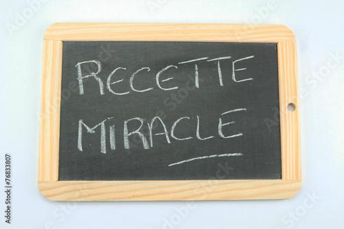 ardoise recette miracle