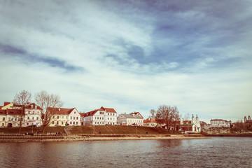 Historic District Trojeckaje Pradmiescie In Minsk, Downtown Nyam