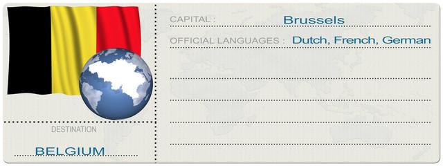 Biglietto Destinazione_Belgio