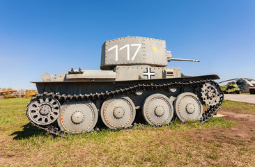 Light Tank PzKpfW 38 (t) in Togliatti Technical museum