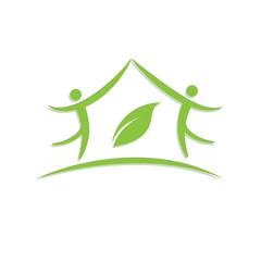Vector sign Green House
