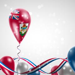 Bermuda flag on balloon
