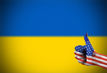 Support from United States for Ukraine