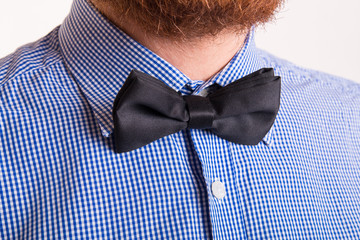 Bow tie and collar