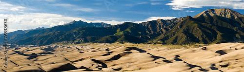 Fotobehang Woestijn Great Sand Dunes National Park