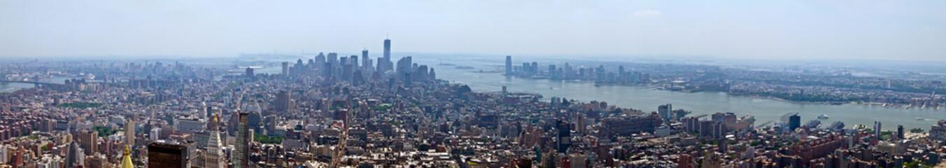 New York City Panoramic Skyline