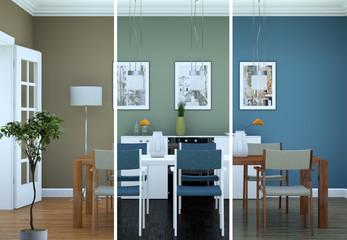 moderne Wohnung Interieur Design