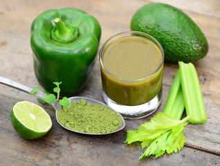 Matcha, Gemüse, Saft