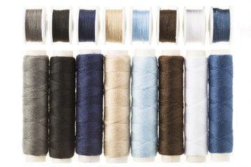 Spools and Bobbins of Threads