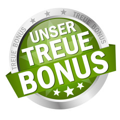 Button with banner Unser Treue Bonus