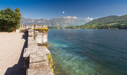 Viewpoint along Lake Como, Italy, Europe
