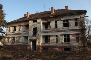 Former Soviet military base in Milovice, Czech Republic.