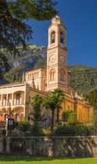 Italian church, Chiesa di San Lorenzo, Tremezzo, Lake Como
