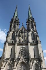 Saint Wenceslas Cathedral in Olomouc.