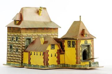 paper castle model