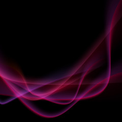 Bright neon swoosh speed wave background