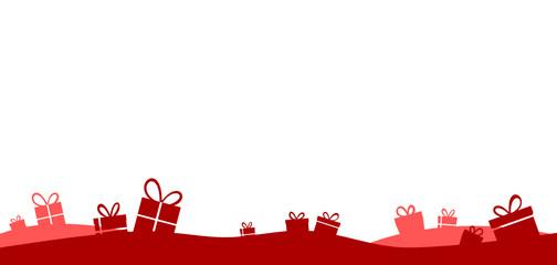 Geschenke rot