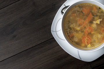 Vegetable soup/ chicken soup