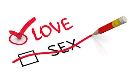 """Выбор """"любовь (love)"""". Концепция изменения выбора"""