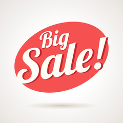 Big Sale Vector Label
