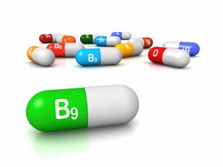 Vitamin B9 Folic Acid