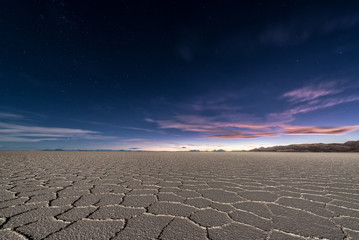 Uyuni Salt Flats at Night