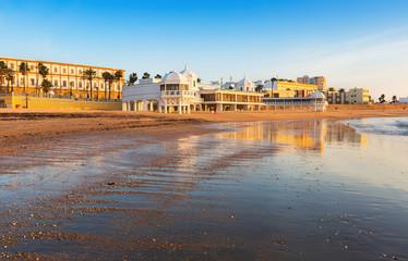 View of Caleta  Beach