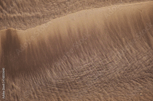 canvas print picture Structure sand background. Designs drawn water.