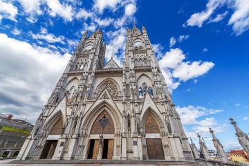 Quito Basilica Facade