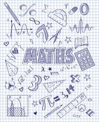 Hand drawn Mathematics set